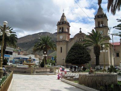 Tarma's central plaza.