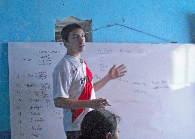 Jonathan, Thomas, Gretchen, Jake, Aimee: Serving in Ayacucho | Peru ...