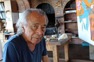 Portrait of an artist: Victor Delfin, Peru's most famous artist.