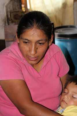 "Corpusa Villavicencio Zela tells her story of ""invading"" a neighborhood in Villa El Salvador."