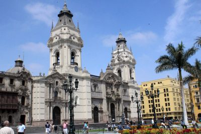 The Cathedral of Lima.