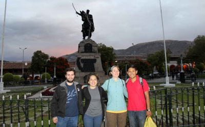 Andrew, Edith, Leah served in Ayacucho.