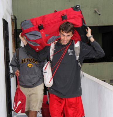 Joel arrives at Casa Goshen.