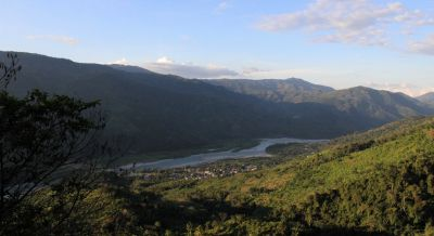 A view of the beautiful Perené River Valley.