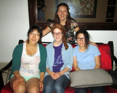 Laura, Lydia, Shina and Trevor: Serving in the Selva
