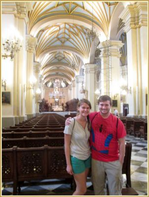 Touring Downtown Lima, From Cathedral Crypts to a Hilltop Lookout