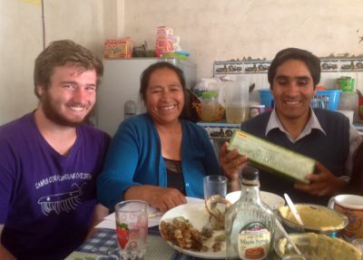 Ammon, Ike and Joanna: Serving in Ayacucho