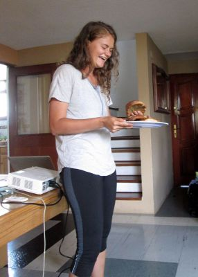 Joanna shares her research on bread in Ayacucho.