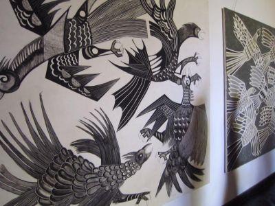 Victor Delfin's breathtaking pieces