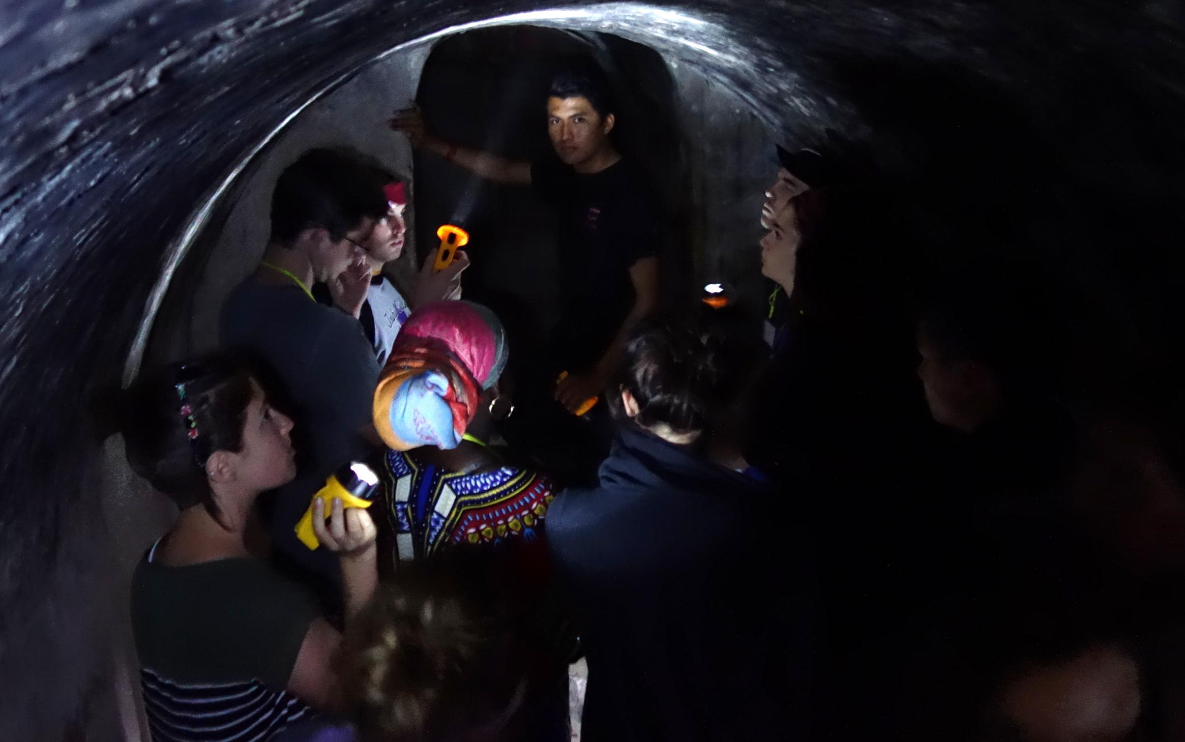 narrow tunnels