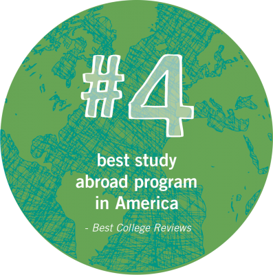 Goshen College has the 4th best study abroad program in America