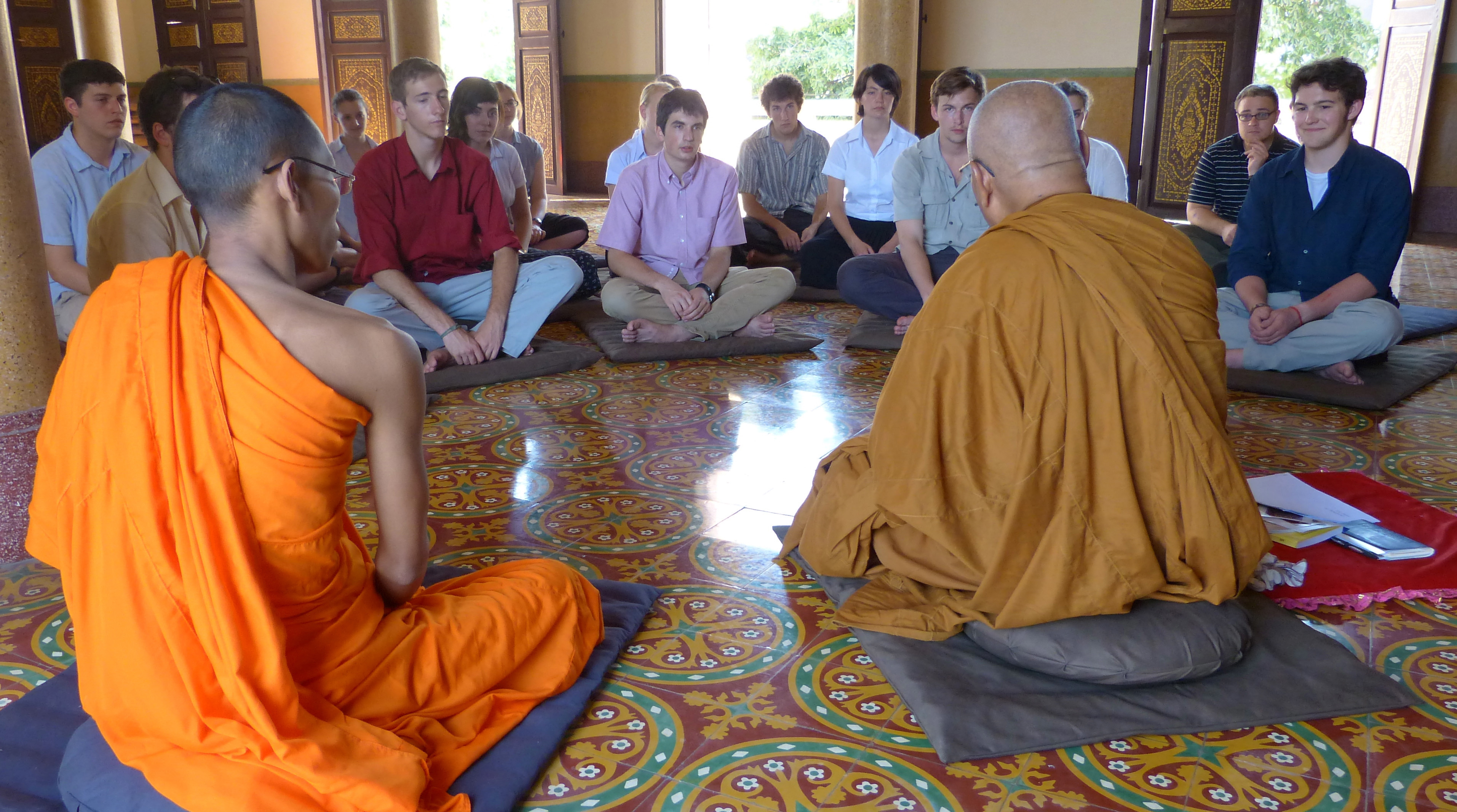 Buddhist religious experiences during service abroad programs incorporate diversity.