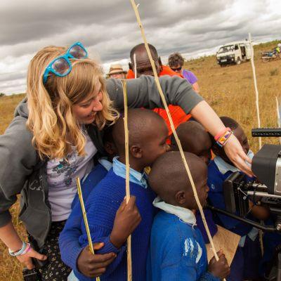 May term class: Communications in Kenya