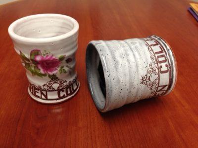 Goshen College mugs