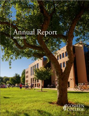 http://issuu.com/goshencollege/docs/2014-15_annual_report_web/1