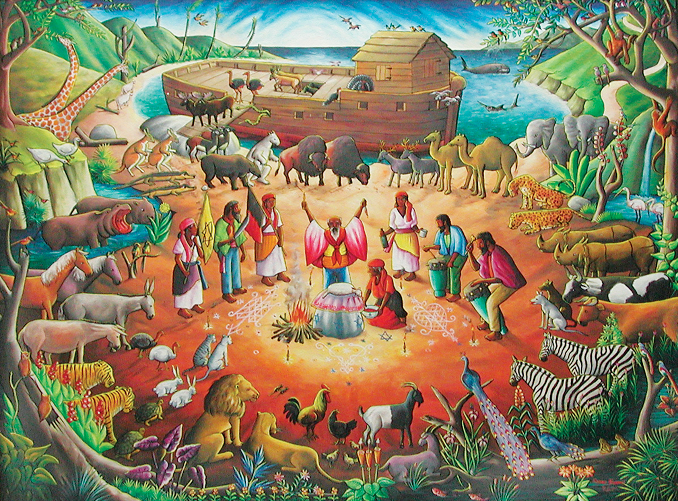 Hunsberger Haitian Art Collection | Give | Goshen College