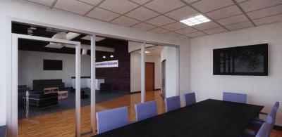 Communication center rendering 1