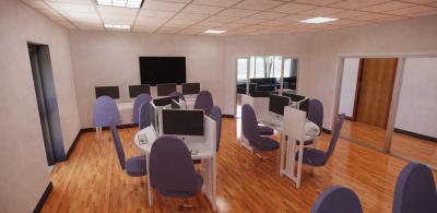 Communication center rendering 2