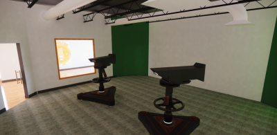Communication center rendering 3