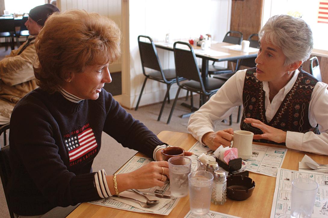 Carolyn Schrock-Shenk and Dana Schmucker