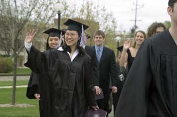108th Goshen College Commencement celebrates 240 students' achievements