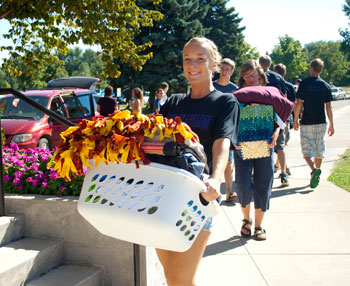 Goshen College welcomes new and returning students