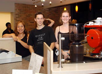 New college coffee bar to have students at heart as business managers and customers