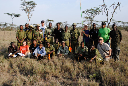 Students spend the summer in Kenya researching fire ecology