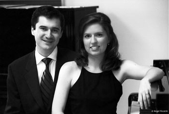 "Piano duo Jorge and Jennifer Muñiz to provide ""a window to Europe"" at Goshen College faculty recital"