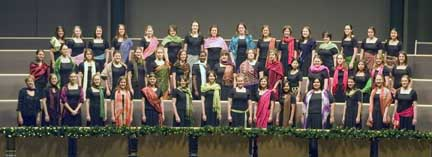 Goshen College Women's World Music  Choir to perform Feb. 14; Group brings their spirit and energy to  Afternoon Sabbatical Series