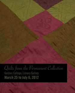 Quilts ranging from Hutterite to Navajo on display in Good Library Gallery, March 25-July 6