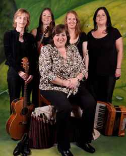 Irish folk sensation Cherish the Ladies will whistle, sing and dance for April 14 PAS