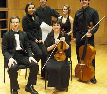 Six student musicians featured in 52nd annual concerto-aria contest on Feb. 11