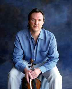 Violinist and composer Mark O'Connor will celebrate the best in American swing with an evening of acoustic string jazz