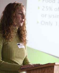 Goshen College students present work in annual academic symposium