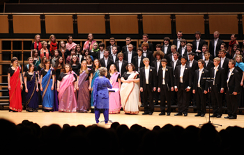 Goshen College choirs celebrate world music with annual EARTHTONES concert