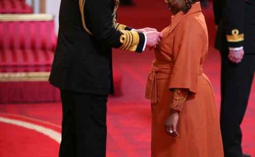 A royal honor for Ellah Wakatama Allfrey '88