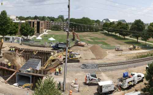 Blog: Check out the coverage of the train underpass construction