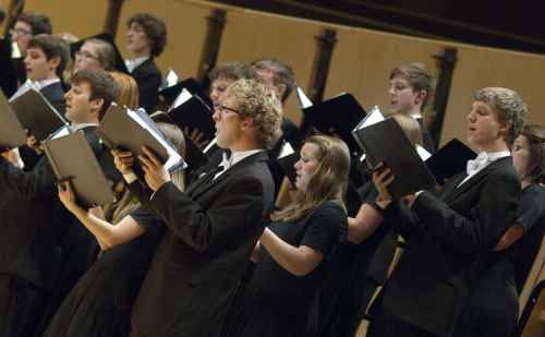 Chamber Choir to present fall 'mystical' concerts on Oct. 27 & 28