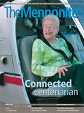 """Connected centenarian: A profile of Rachel Weaver Kreider '31"" in The Mennonite"