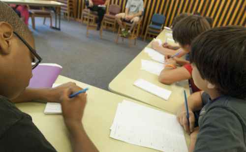 Write on Sports camp at Goshen College introduces middle schoolers to journalism