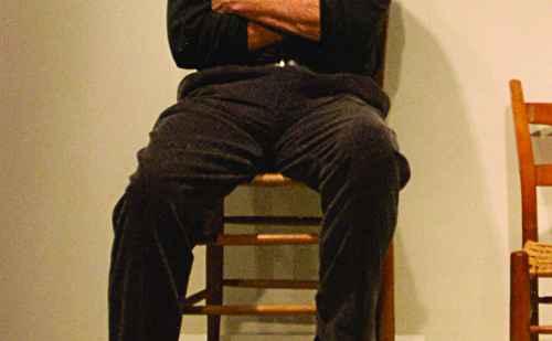Robert Brunk '63 bidding farewell to the auction house