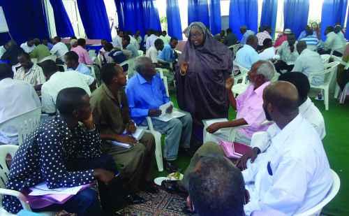 Khadar Bashir-Ali '85 providing education in Somalia