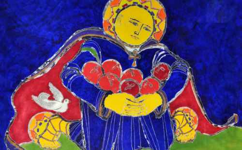 Sylvia Gross Bubalo's art and poetry to be shown in Library Gallery