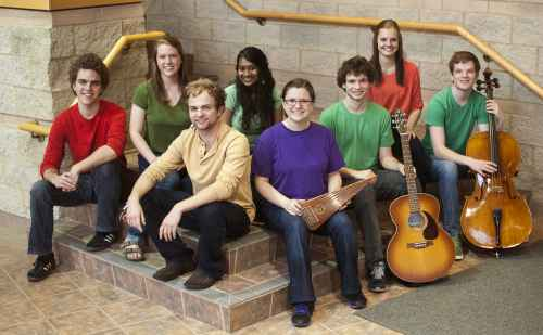 Parables worship team focuses on stories of healing and home through song, stories and drama