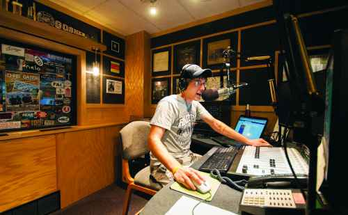 Goshen College's radio station, 91.1 The Globe, nominated for state awards