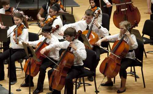 Youth orchestras to perform works by American composers on Nov. 24