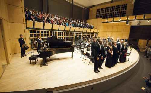 "Goshen High School choir to join Goshen College choirs for Orff's ""Carmina Burana"""