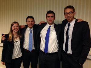 Goshen College MEDA winning team