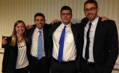 Goshen College business students take top prize at MEDA competition, again